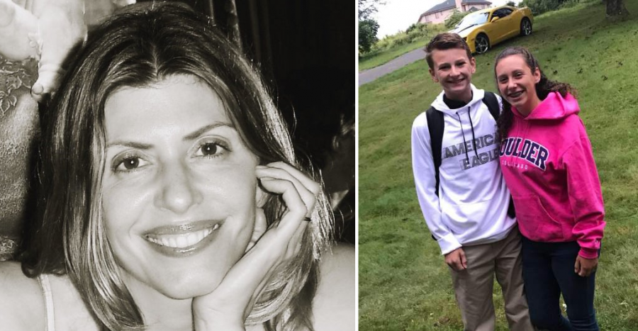 From left, Jennifer Dulos, Sterling Jette, and Della Jette are recent victims of violent crimes in Connecticut suburbs. (Photos courtesy of the New Canaan Police Department and Facebook)