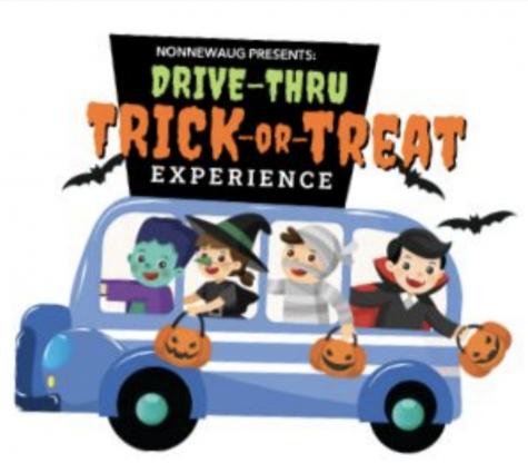 Drive Through Trick or Treat Street