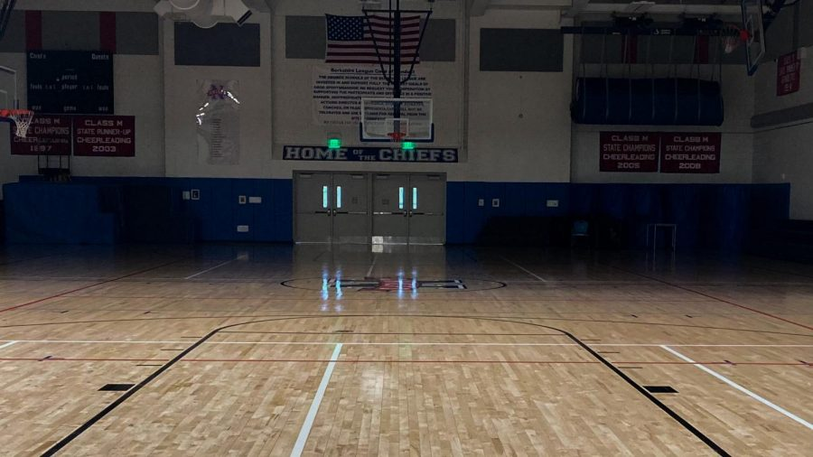 The Nonnewaug gym may stay dark for much of this winter -- all Connecticut high school sports are on hold until at least Jan. 19, 2021, due to the state's rise in COVID-19 cases.