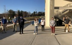 The Unified Buddies Club takes advantage of the nice weather outside Nov. 10 by playing a game of kickball.