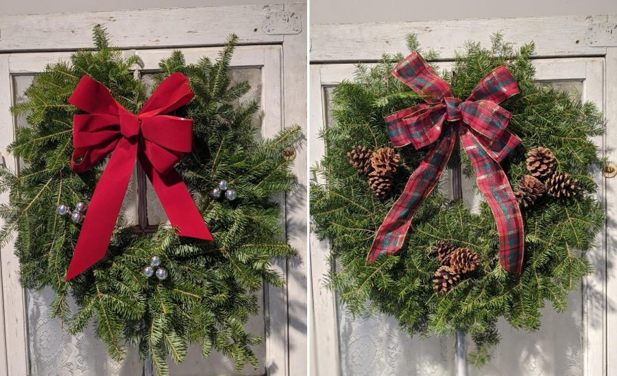 Different+varieties+of+wreaths+are+among+the+many+items+available+at+the+annual+Woodbury+FFA+holiday+plant+sale+fundraiser%2C+which+ends+with+pickups+Dec.+5.