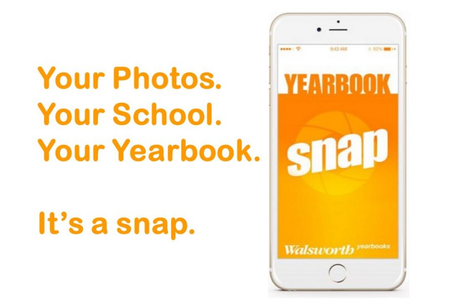 The Nonnewaug yearbook staff needs student submissions for this year's edition -- one way to submit is by using the Yearbook Snap app.