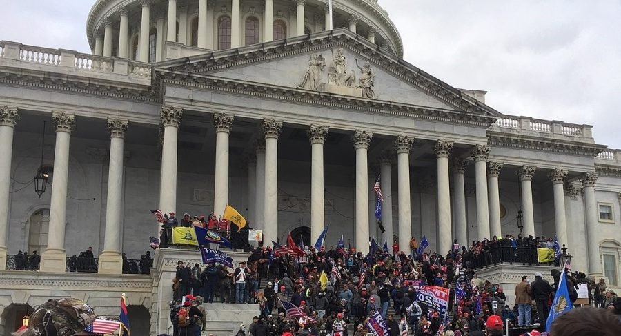 Supporters+of+former+President+Donald+Trump+stormed+the+U.S.+Capitol+during+a+Jan.+6+protest%2C+resulting+in+five+deaths+and+hundreds+of+arrests.