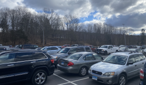 Nonnewaug's parking lot has been full for the first time since early 2020 thanks to the return to fully in-person learning.