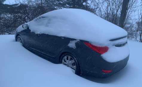Nora Buckley drives a 2013 Hyundai Accent, which was buried in the Feb. 1 snowstorm.