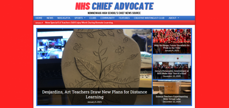 The new, all-online version of the NHS Chief Advocate debuted in October.