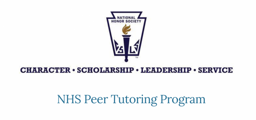 The National Honor Society has launched a peer tutoring program with online help available in most subjects.