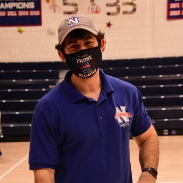 Sean McGee, Nonnewaug's Certified Athletic Trainer, has helped keep the NHS athletic program running smoothly amid the Coronavirus pandemic.