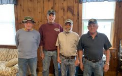 A photograph of local Vietnam Veterans - Left to Right: Bob Langenbach, Dan O'Neil, Robert Waldron, Rodney Albert. On Monday, June 14, 2021, there will be a burning of the flag ceremony held at 6pm at the Bethlehem American Legion post #146 in Bethlehem, CT. Show your support for the men and women who risk and have risked their lives to protect ours and our country's freedom by attending this honorable ceremony.
