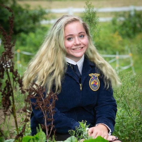 Hodges Awarded Title of FFA Chapter Parliamentarian, Recognized for Positive Attitude, Ability to 'Think Outside the Box'