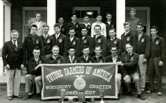 Ellis Clark, left, led in 1920 Woodburys first vocational agriculture class, which later became one of the nations first chapters of the FFA when it was established in 1928. The Woodbury FFA Chapter is one of the most recognized in the country.