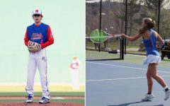 Nonnewaug baseball player Ben Conti, left, and tennis player Alexa Burke are just two of the many student-athletes who juggle sports, academics, and their mental health.